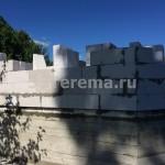 строительство домов из пеноблоков цены