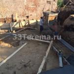бетонное монолитное основание
