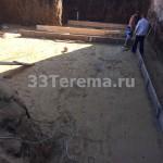 песчаная подготовка
