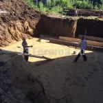 подготовка песчаного основания
